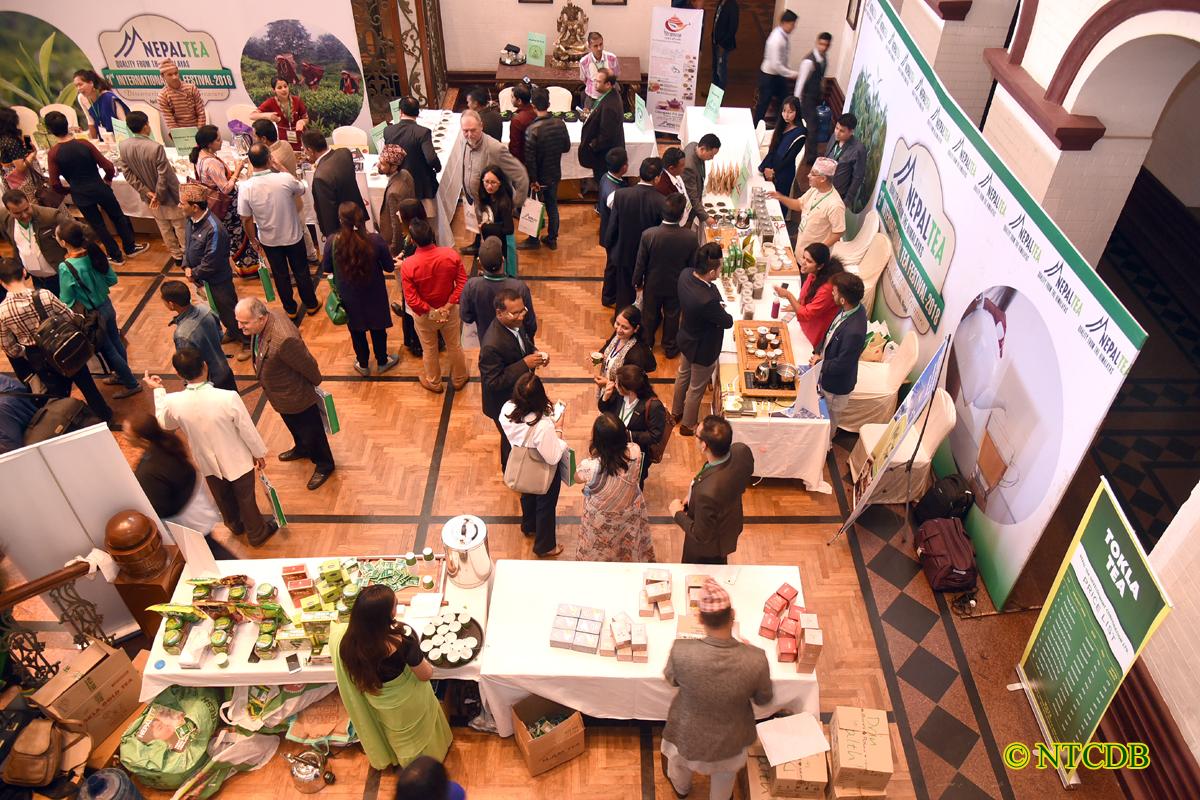 Tea Exhibition in Yak & Yeti Hotel, Kathmandu