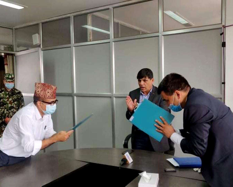नेपाल कृषि अनुसन्धान परिषदसँग समझदारीपत्रमा हस्ताक्षर