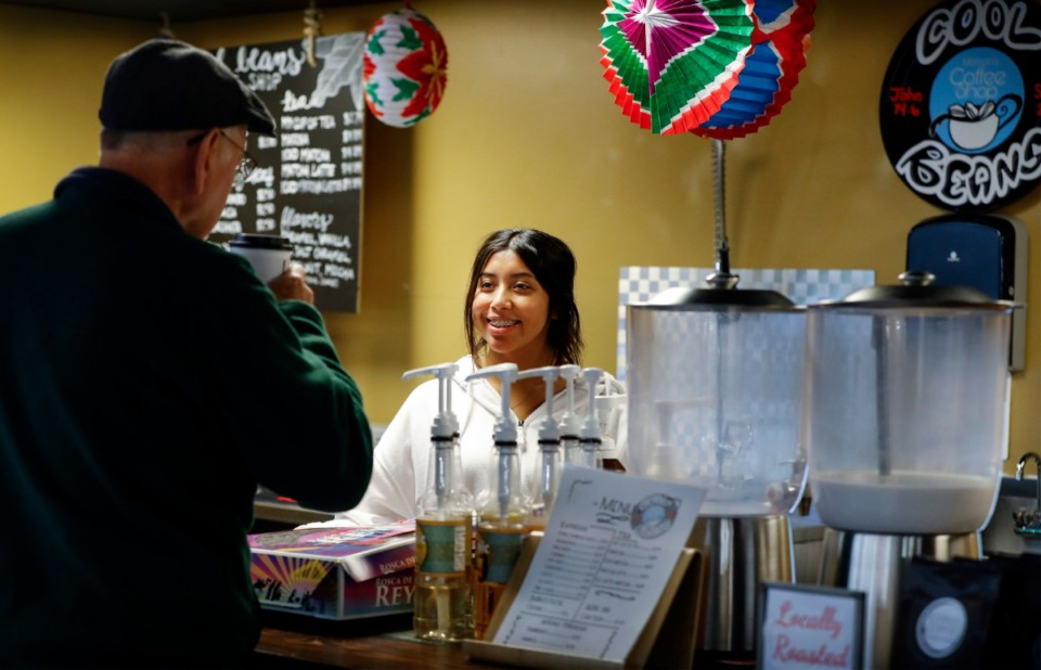 Cool Beans Coffee Shop owners serve up international flavor